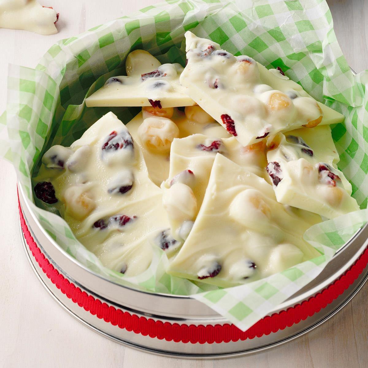 Chocolate Cashew Bark Dunmore Candy Kitchen: Cranberry Macadamia Bark Recipe