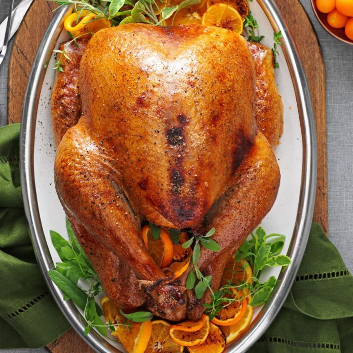 Cranberry Orange Roasted Turkey