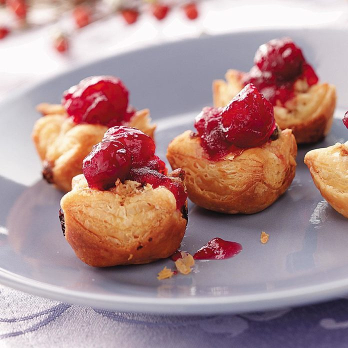 Cranberry-Orange Tartlets