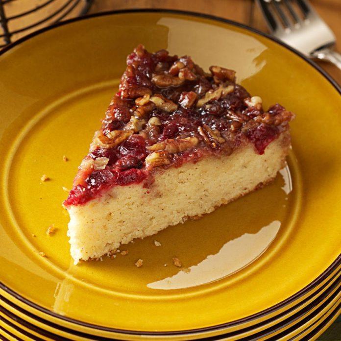 Cranberry-Pecan Coffee Cake