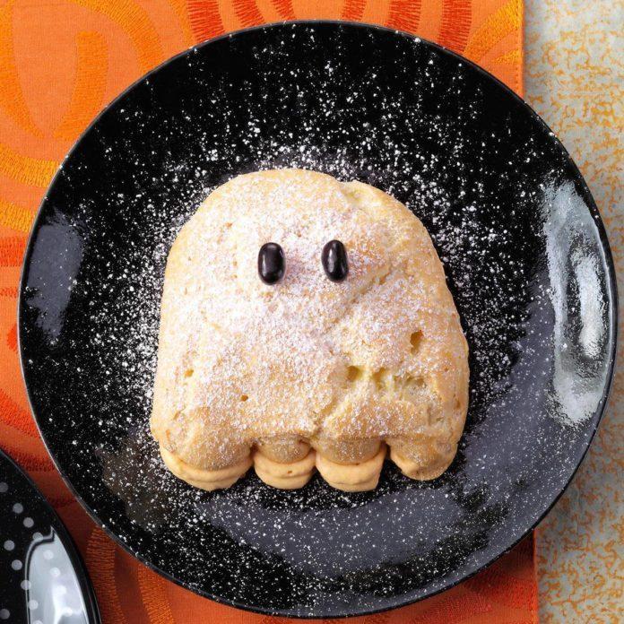 Cream Puff Ghosts