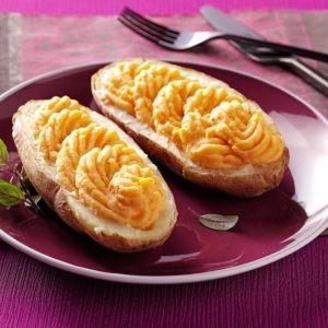 Creamy Butternut Twice-Baked Potatoes