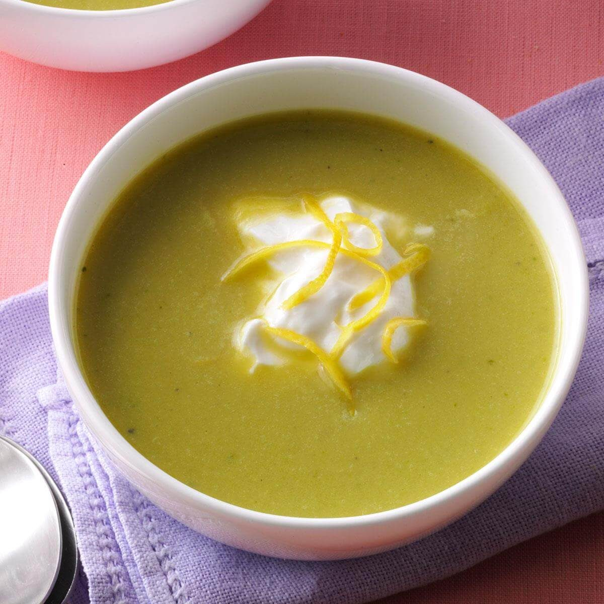 Creamy Fresh Asparagus Soup