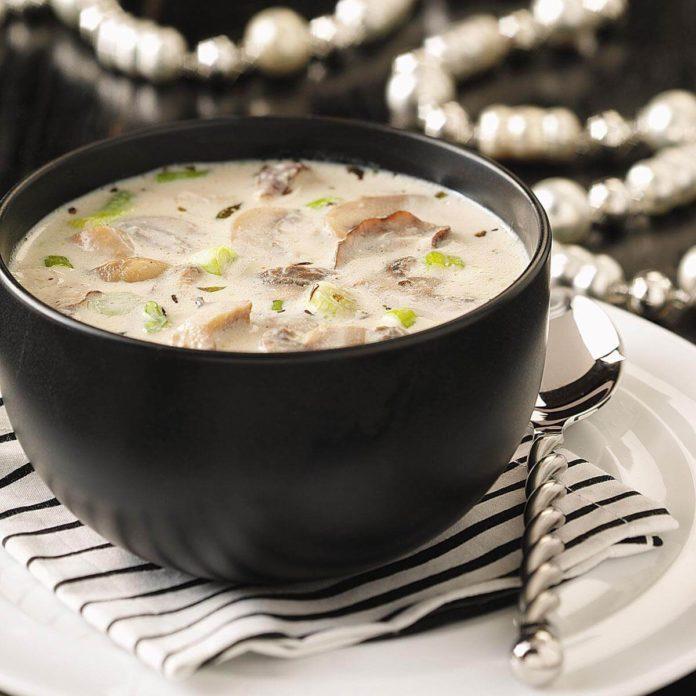 Mushroom Soup Recipe Test Kitchen