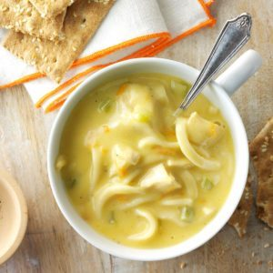 Creamy Turkey Noodle Soup