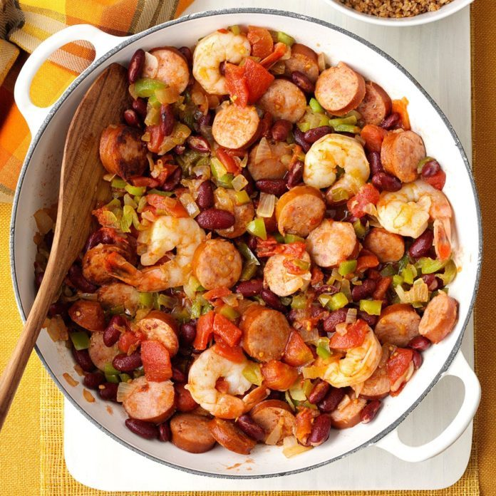 recipe: italian sausage and shrimp recipes [34]