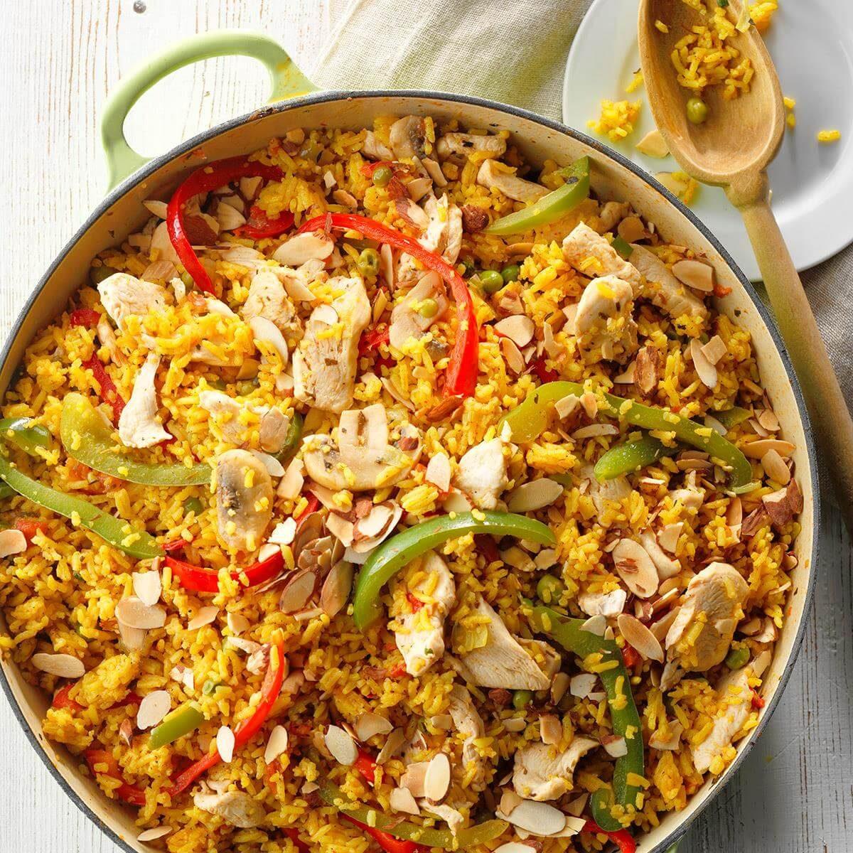 Creole Skillet Dinner Recipe   Taste of Home
