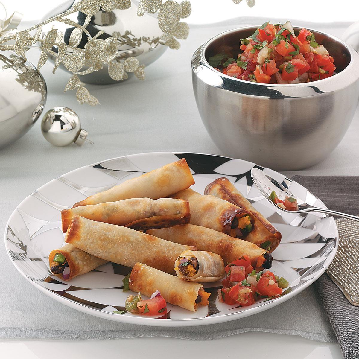 Crispy caribbean veggie wraps taste of home forumfinder Images