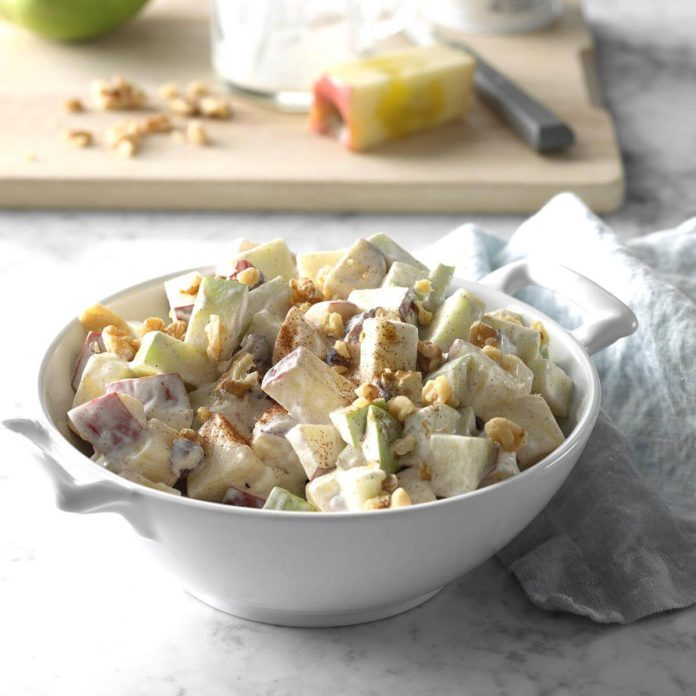 Crunchy Apple Side Salad