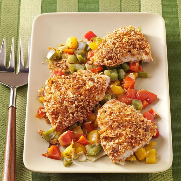 Crusty Red Snapper