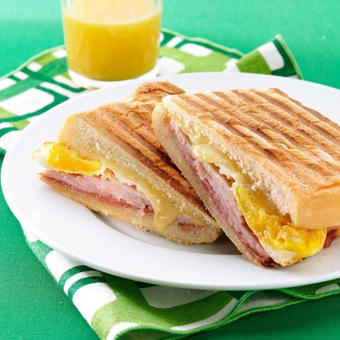 Cuban Breakfast Sandwiches