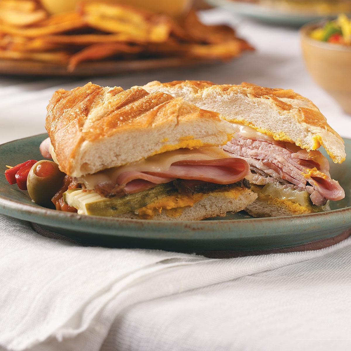Cuban Roasted Pork Sandwiches Recipe