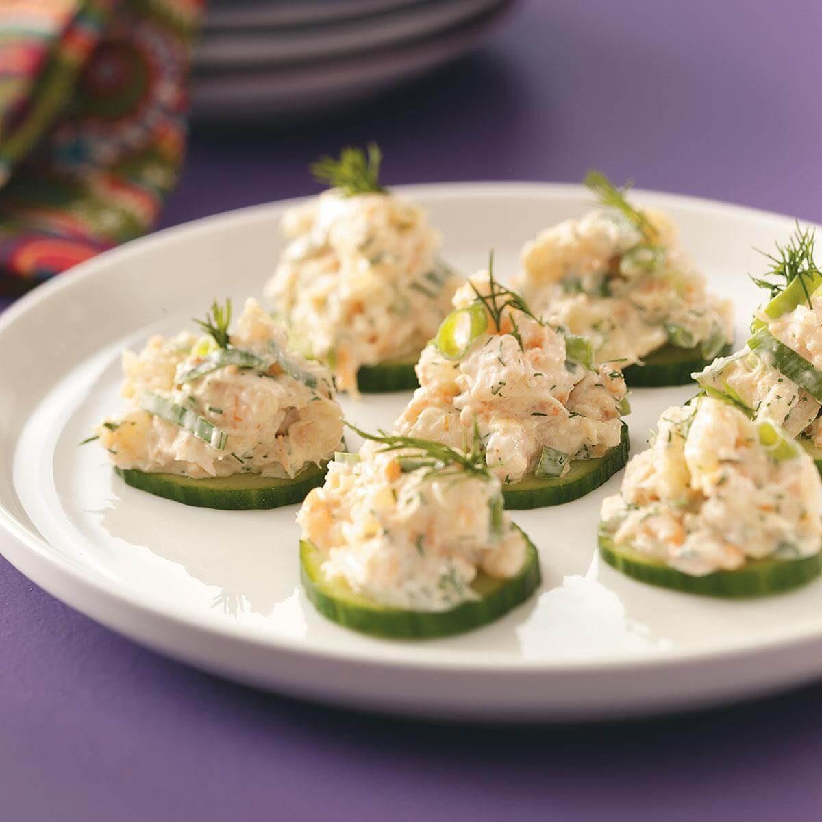 Cucumber Shrimp Appetizers Recipe