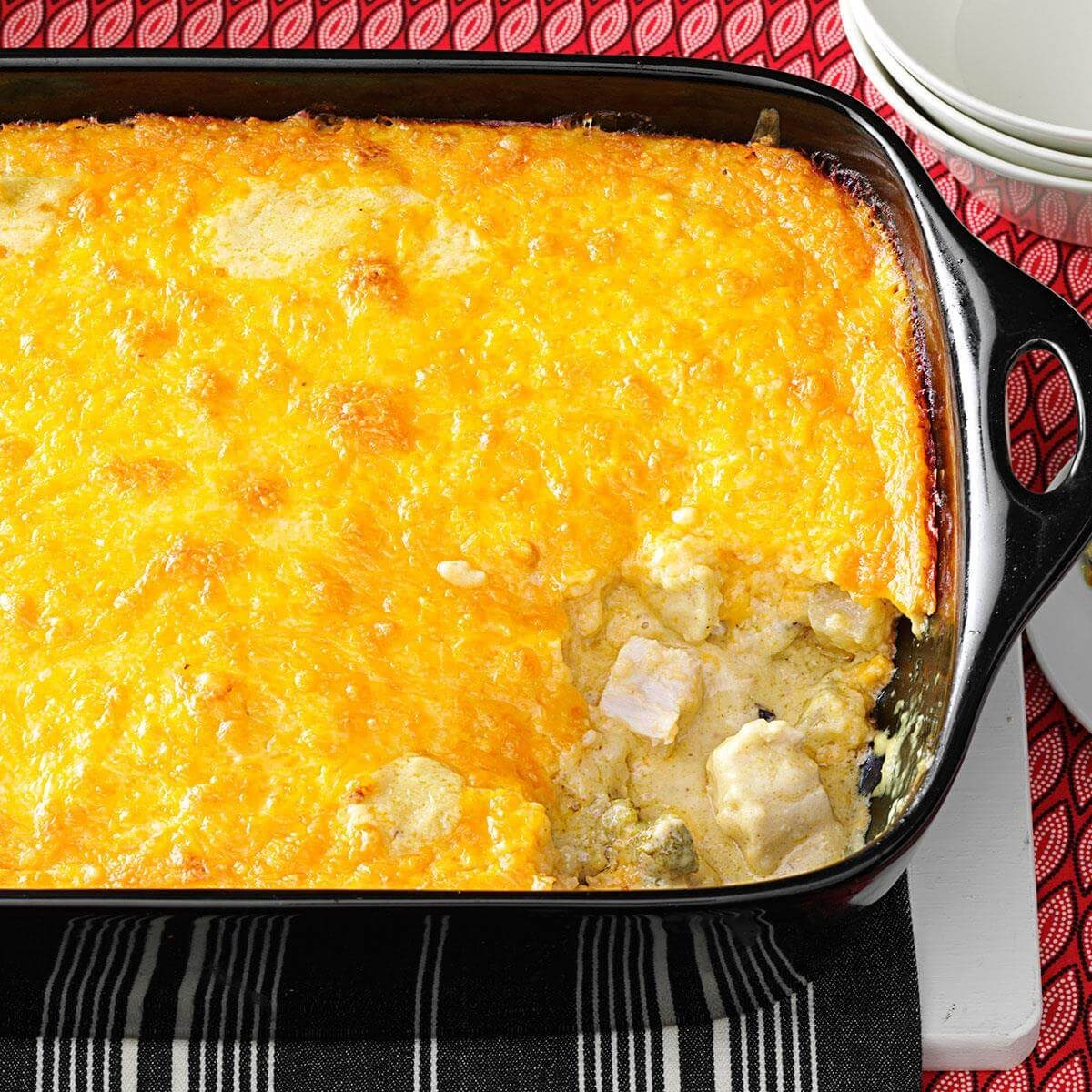 Curried Chicken And Grits Casserole Recipe Taste Of Home