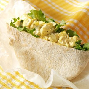 Curried Olive Egg Salad