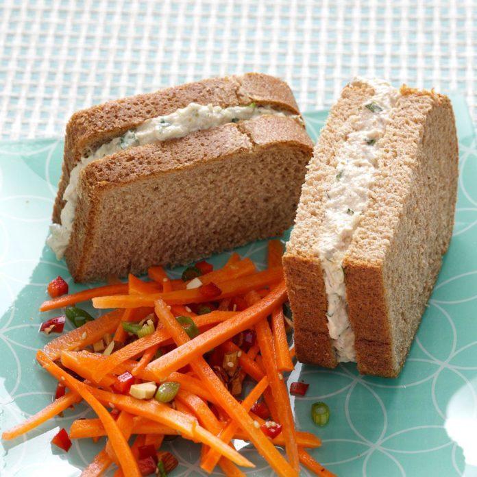 Curry & Parmesan Tuna Salad