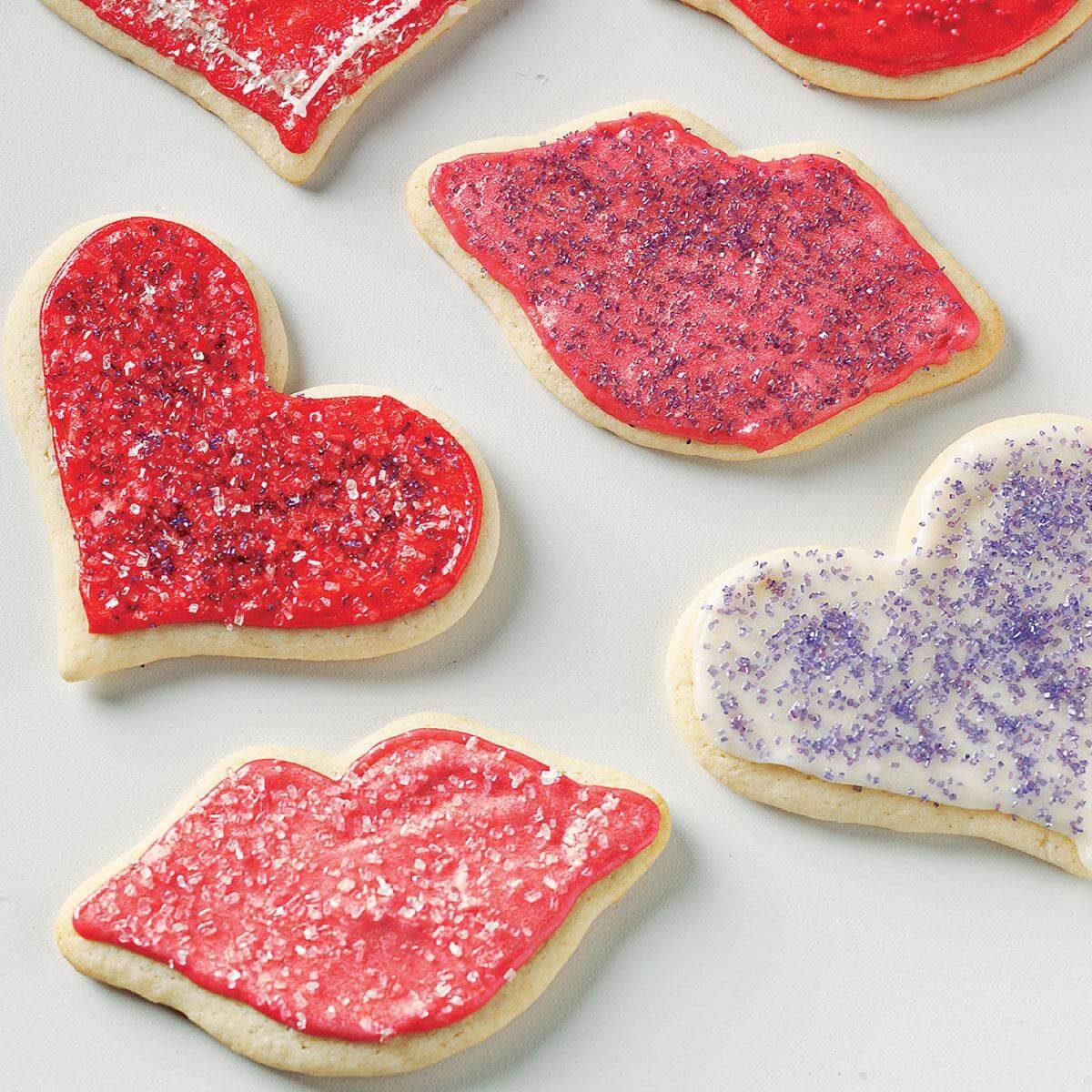 Cutout Wedding Cookies Recipe | Taste of Home