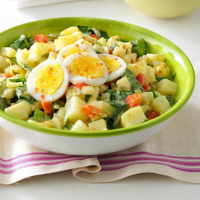 Dandelion Potato Salad