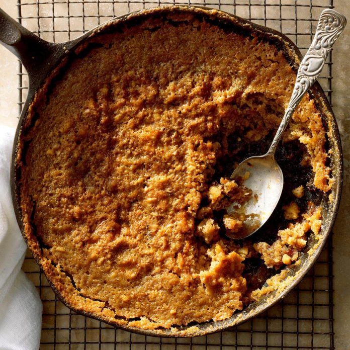 Date Pudding Cobbler