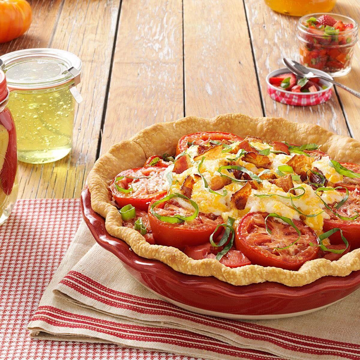 Delicious Tomato Pie