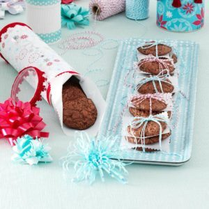 Double-Chocolate Espresso Cookies