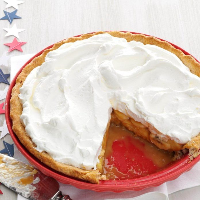 Mexico: Dulce de Leche Banana Cream Pie