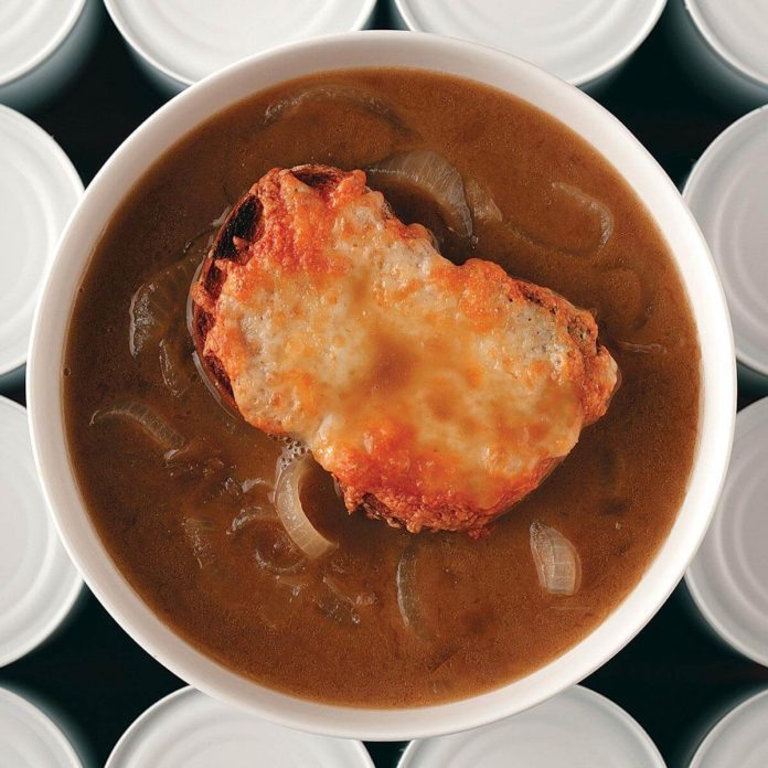 Test Kitchen French Onion Soup