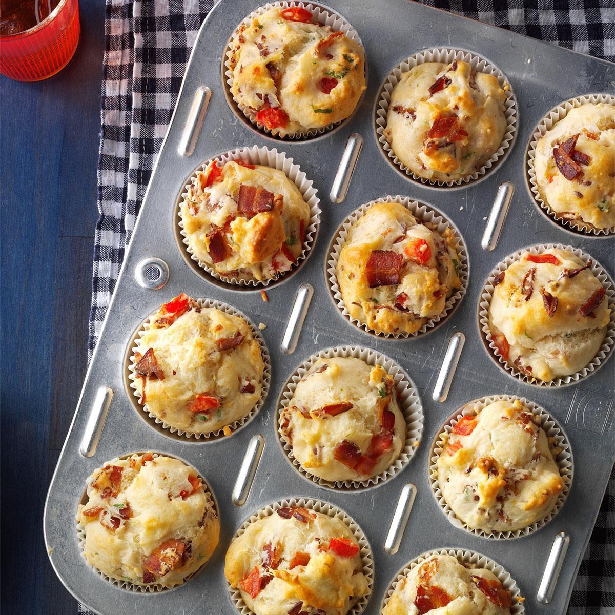 Blt Muffins Recipe Taste Of Home