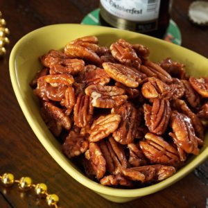 Candied Pumpkin Spice Pecans