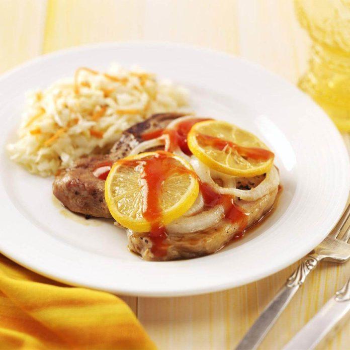 Lemon Pork Chops