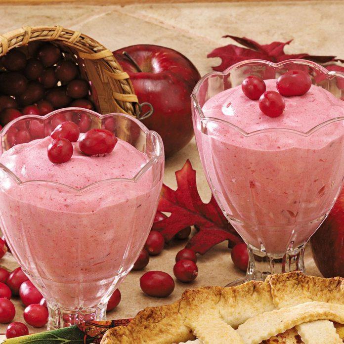 Cranberry Parfaits