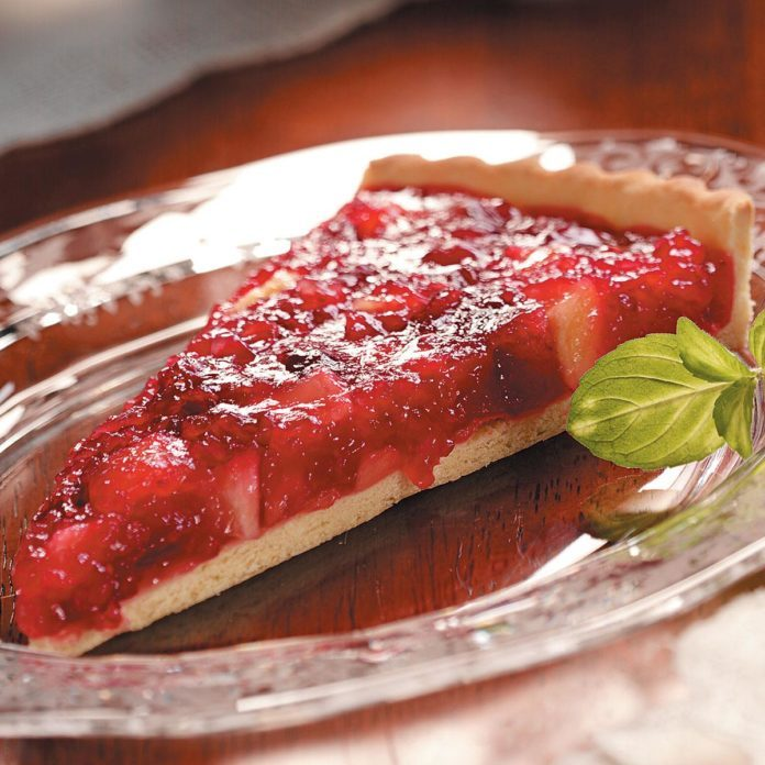 Cranberry Apple Tart