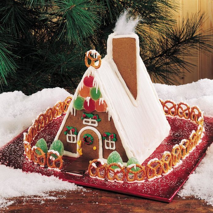 Gingerbread Chalet Recipe Taste Of Home