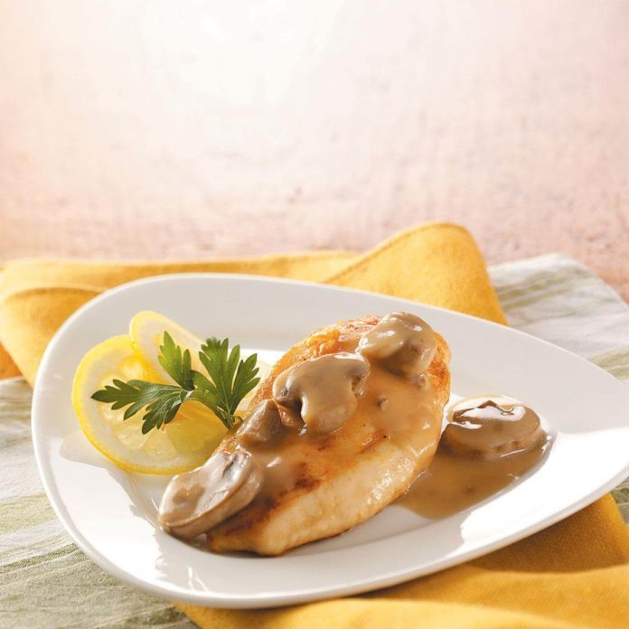 Lemon Mushroom Chicken