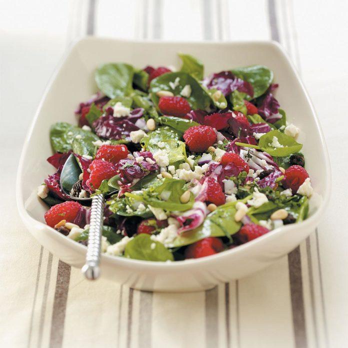 Special Radicchio-Spinach Salad