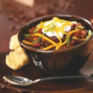 Jumpin' Espresso Bean Chili