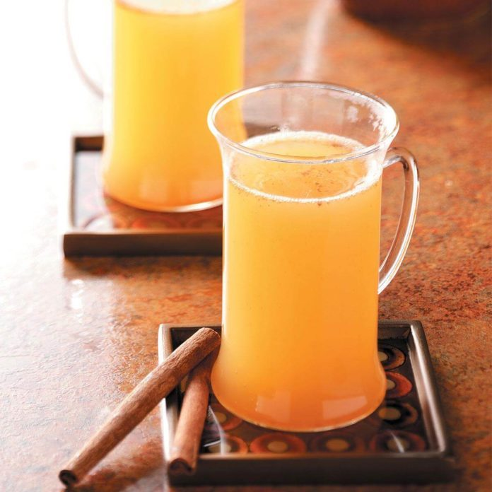 Easy Hot Spiced Cider