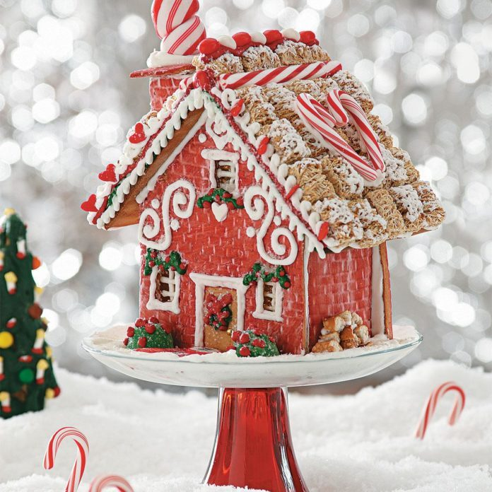 home sweet home gingerbread cottage
