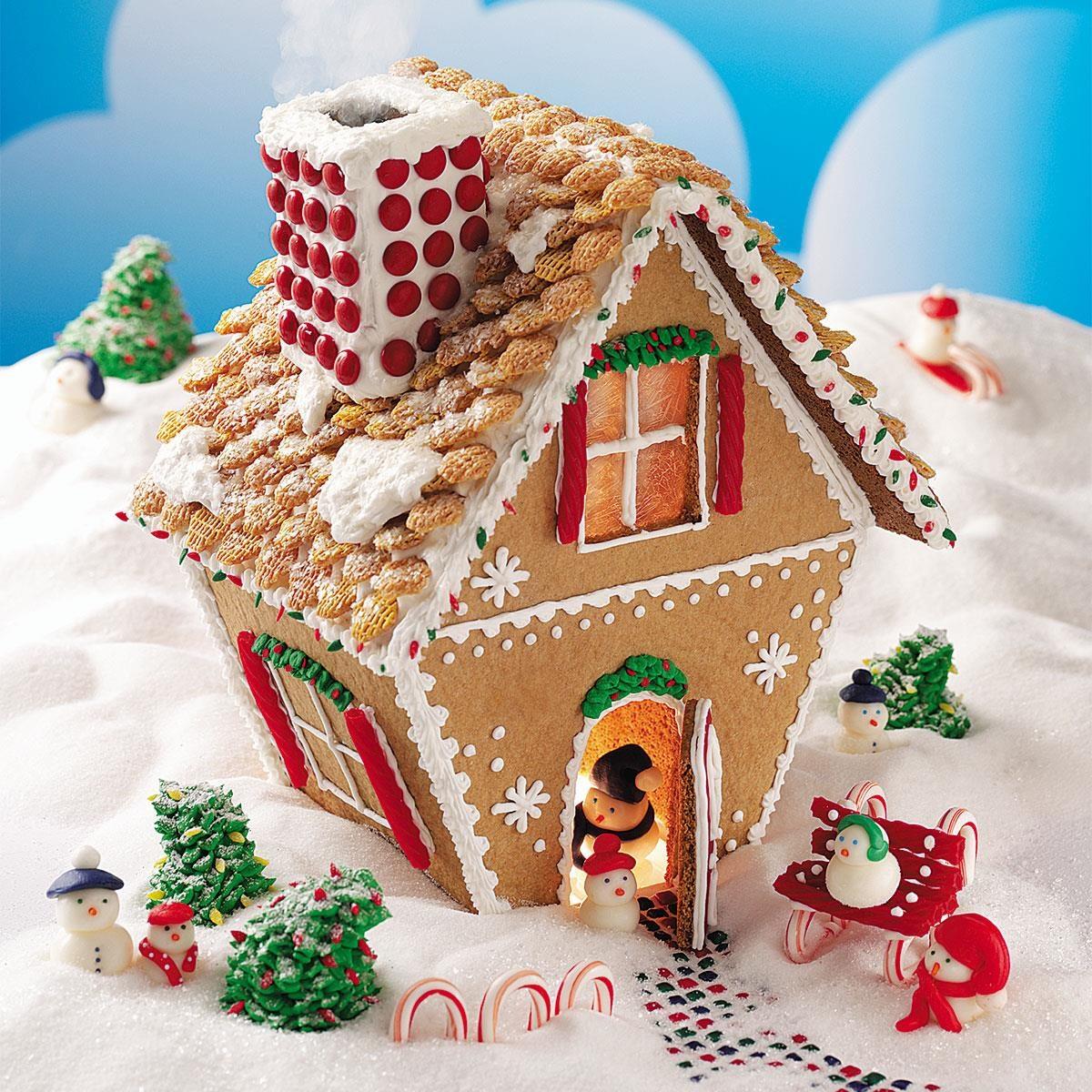 Winter Wonderland Gingerbread Cottage Recipe