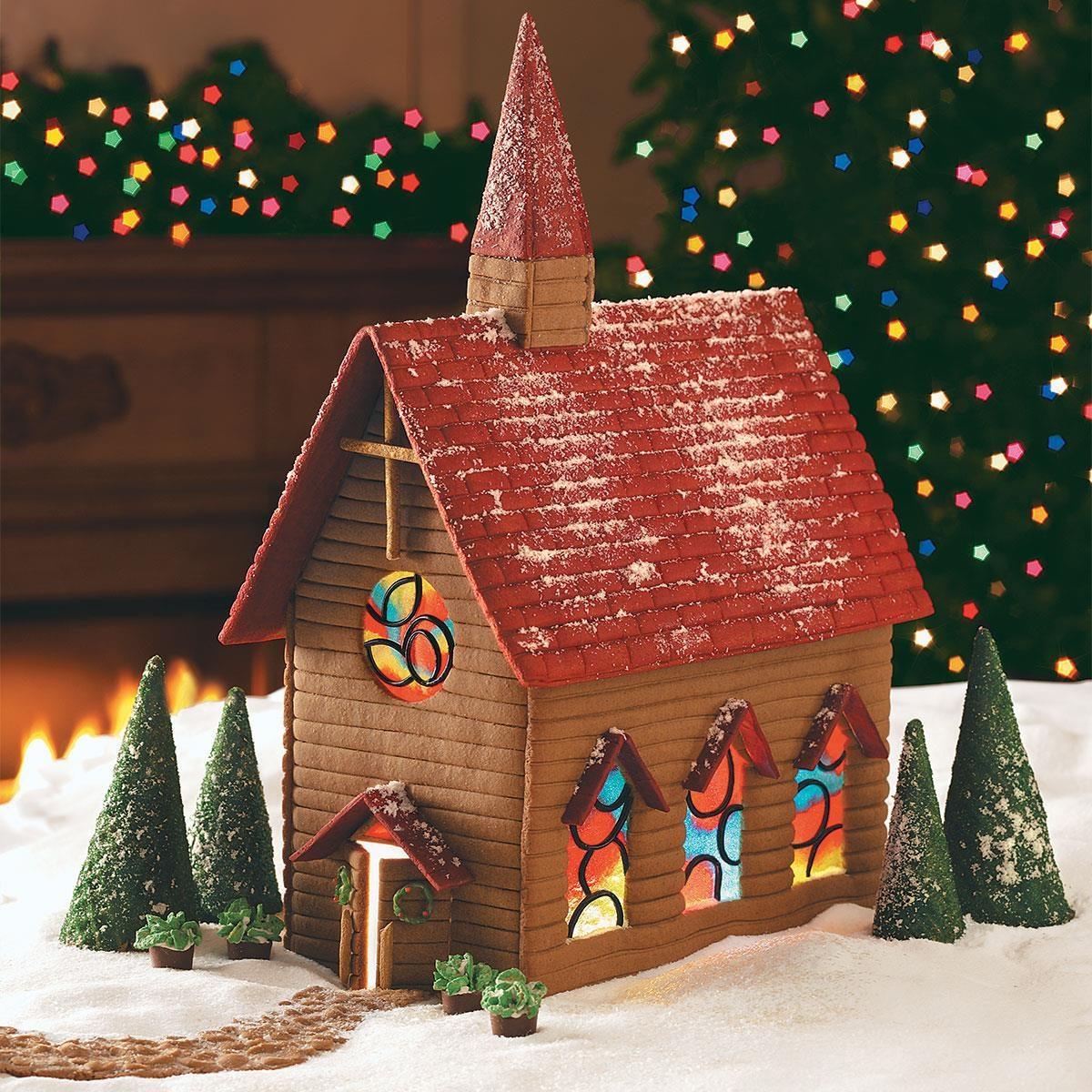 Gingerbread Country Church Recipe