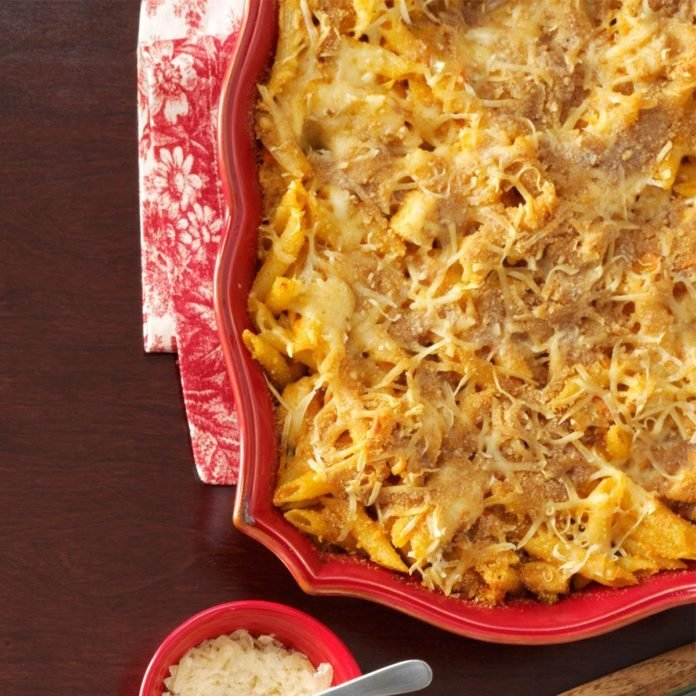 New York: Buffalo Chicken Pasta Bake