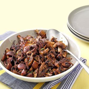 Herb-Roasted Mushrooms