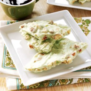 Lime-in-the-Coconut Almond Bark