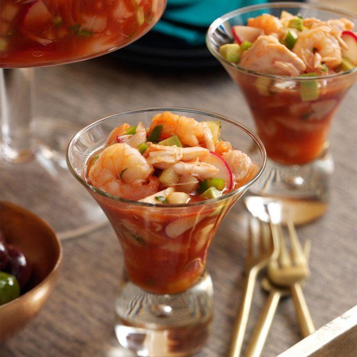 Spicy Shrimp & Crab Cocktail
