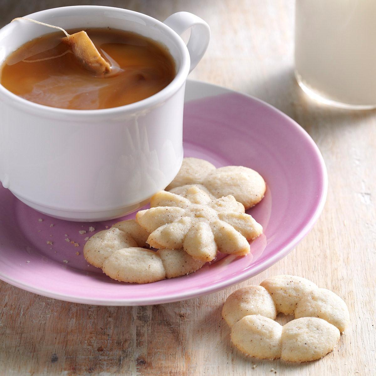 Chai Snickerdoodle Spritz Recipe