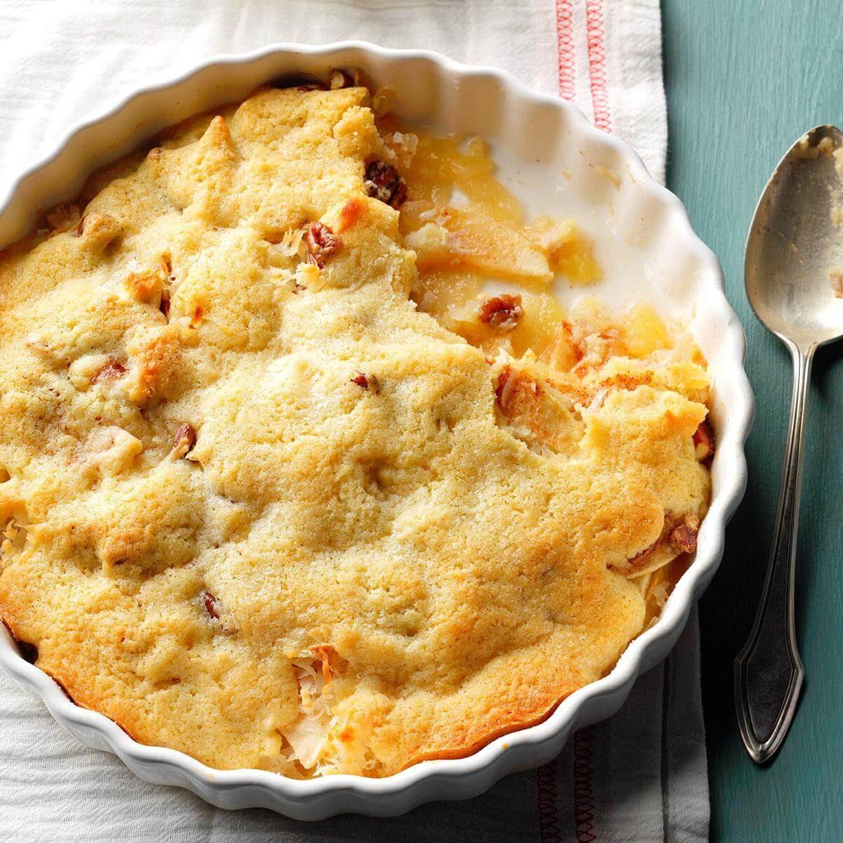 Macaroon Apple Cobbler Recipe
