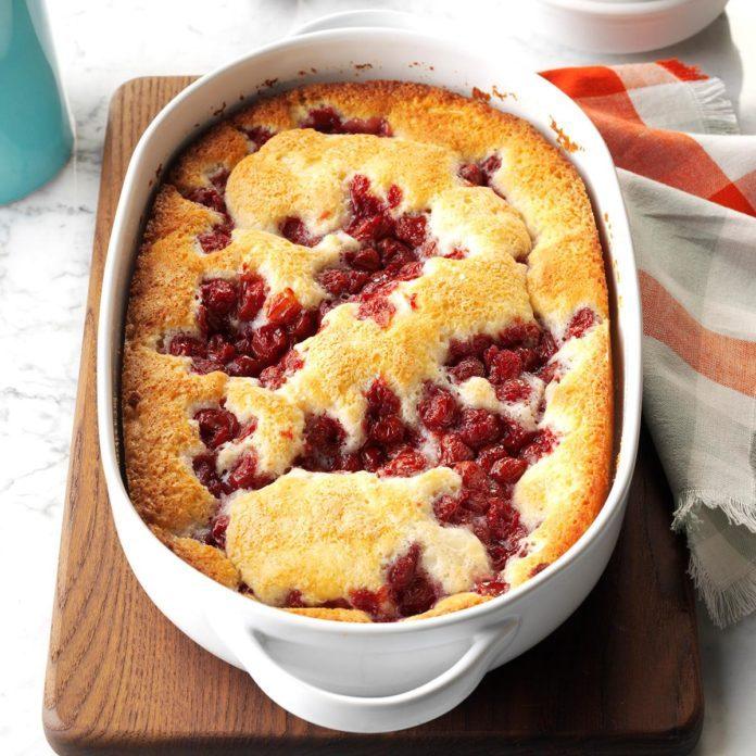 Cherry Pudding Cake