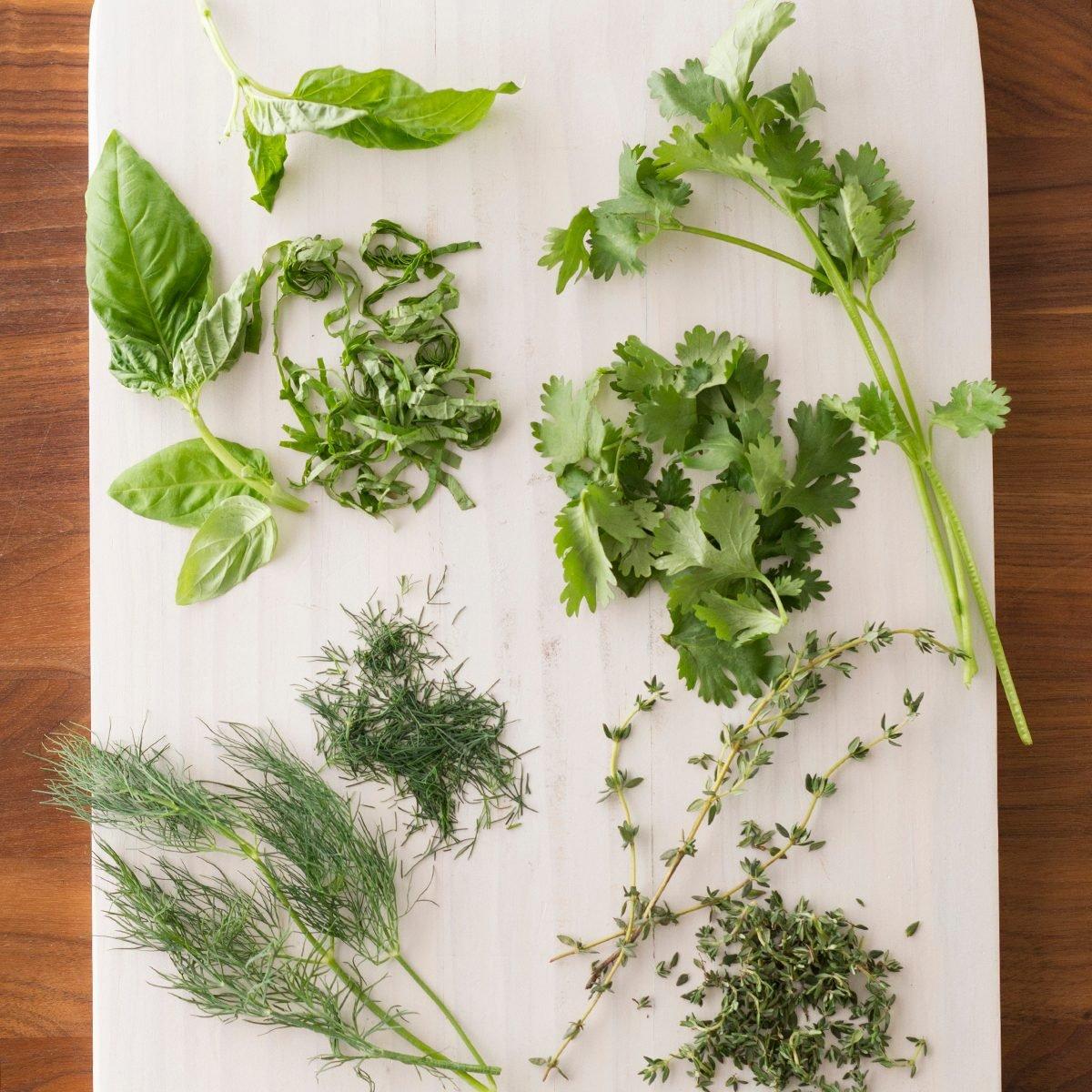 Snip, Chop and Chiffonade: How to Prep Fresh Herbs