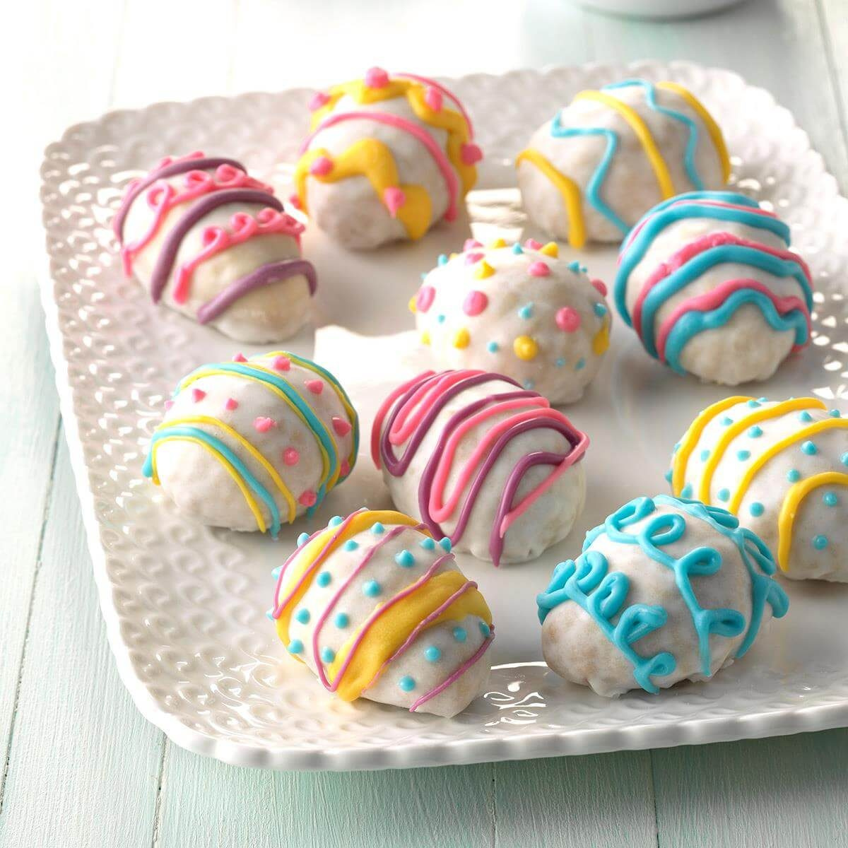 16 cute easter treats taste of home for Quick and easy easter treats recipes