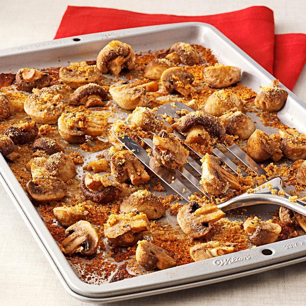 Easy baked mushrooms recipe taste of home forumfinder Images